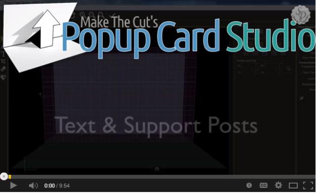 Popup Card Studio – Adding Basic Text
