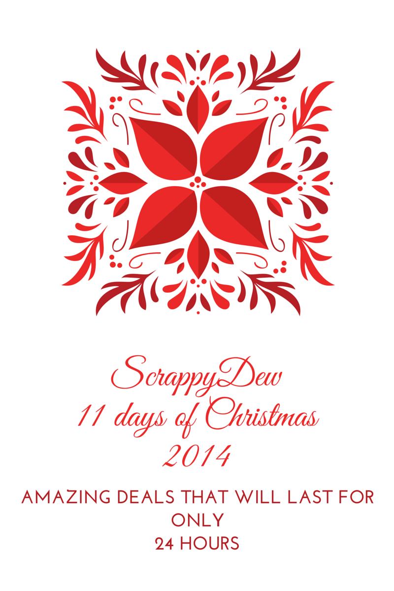 ScrappyDew 11 Days of Christmas
