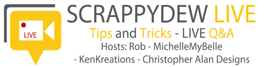 ScrappyDew Live – SVGHut Giveaway