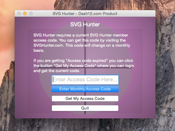 SVGHunter_Access
