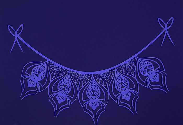 Spider Web Banner – Silver Bullet